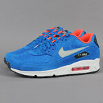 Nike Air Max 90 Essential dk electric bl / lght stn - anthrct