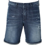 Neil Barrett Distressed Denim Shorts