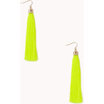Forever 21 Quirky Tassel Drop Earrings