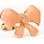 Forever 21 Lacquered Bow Cocktail Ring