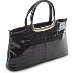 Černá kroko kabelka Royal Style 442 černá