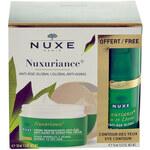 Nuxe Nuxuriance Anti-Aging Day Cream Normal To Dry Skin dárková sada W - 50ml Nuxuriance Anti-Aging Day Cream Normal To Dry Skin + 15ml Nuxuriance Eye And Lip Cream Pro normální až suchou pleť
