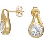 Esprit Náušnice ES-Glamour Solitaire Gold ESER92390B000