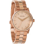 Topshop **Nixon Small Rose Gold Kensington Watch