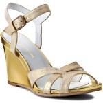 Sandály SOLO FEMME - 53102-12-D05/332-07-00 Zlatá