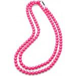Oliver Weber Náhrdelník Perlen Combi Neon Pink 4332-PIN