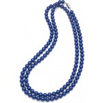 Oliver Weber Náhrdelník Perlen Combi Dark Lapis Blue 4332-DBLU