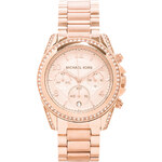 Michael Kors Blair Watch in Metallic Gold