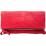 Clare Vivier Foldover Clutch in Red
