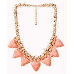 Forever 21 Pretty Tough Geo Necklace