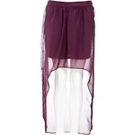 Terranova Long georgette skirt