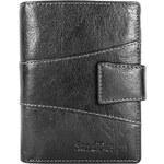Sendi Design Pánská kožená peněženka SendiDesign 1041L - černá