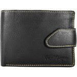 Sendi Design Pánská kožená peněženka SendiDesign 7004 - černá