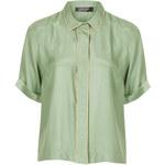 Topshop Silk Pyjama Shirt