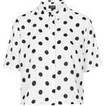 Topshop Spot Print Shirt