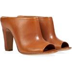Maison Martin Margiela Leather Open Toe Mules
