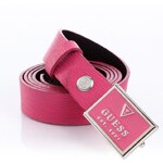 Guess Field Of Dreams Patch Logo Leather Belt
