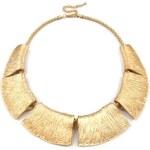 Stoklasa Kovový náhrdelník Kleopatra zlatá
