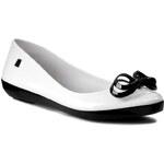 Baleríny MELISSA - Melissa Color Feeling II Sp Ad 31523 White/Black 51637