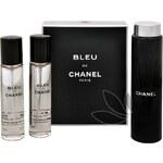 Chanel Bleu De Chanel - toaletní voda s rozprašovačem (3 x 20 ml) 60 ml