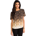 Equipment Riley Fading Blouse in Brown