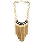 Ettika x REVOLVE Fringe Necklace in Metallic Gold