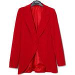 Dámské delší sako červená - SGlamorous by Glam