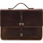 Billykirk No. 236 Schoolboy Satchel in Brown