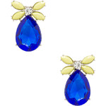 8 Other Reasons Rifle Earrings in Blue
