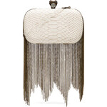 House of Harlow Jude Clutch in Ivory