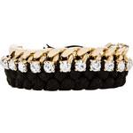 joolz by Martha Calvo Large Kim Bracelet in Black
