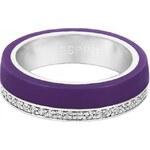 Esprit Prsten Marin 68 Glam Purple ESRG11565H 51 mm