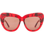 House of Harlow Chelsea Sunglasses in Red
