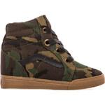 Vans Sk8-Hi Wedge Sneaker in Olive