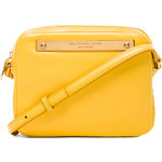 Marc by Marc Jacobs Goodbye Columbus Mireu Crossbody in Yellow