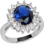 Silvego Stříbrný prsten princezny Kate TXR903091 60 mm