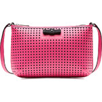 Marc by Marc Jacobs Sophisticato Perforated Leather Shoulder Bag