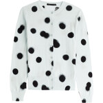 Marc by Marc Jacobs Blurred Dot Printed Cotton Cardigan