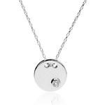 STAVIORI Zlatý náhrdelník s diamantem NBD4206