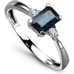 STAVIORI Luxusní zlatý prsten s diamantem PBD1922S
