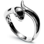 STAVIORI Luxusní zlatý prsten s diamantem PBD1932