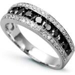 STAVIORI Luxusní zlatý prsten s diamantem PBD3813