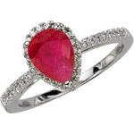 STAVIORI Luxusní zlatý prsten s diamantem PBD3862