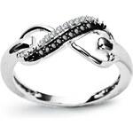 STAVIORI Luxusní zlatý prsten s diamantem PBD3906