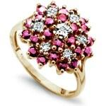 STAVIORI Luxusní zlatý prsten s diamantem PZD1600R
