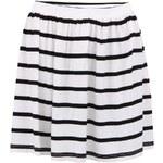 Černo-bílá pruhovaná sukně ONLY Brandy