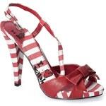 Killah - Sandály na podpatku - červená, 40
