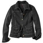 Blancheporte Džínová bunda černá 38