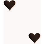 Forever 21 Heart to Heart Studs