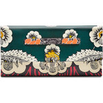 Valentino Printed Leather Clutch